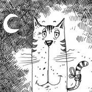 cat-on-the-chimney